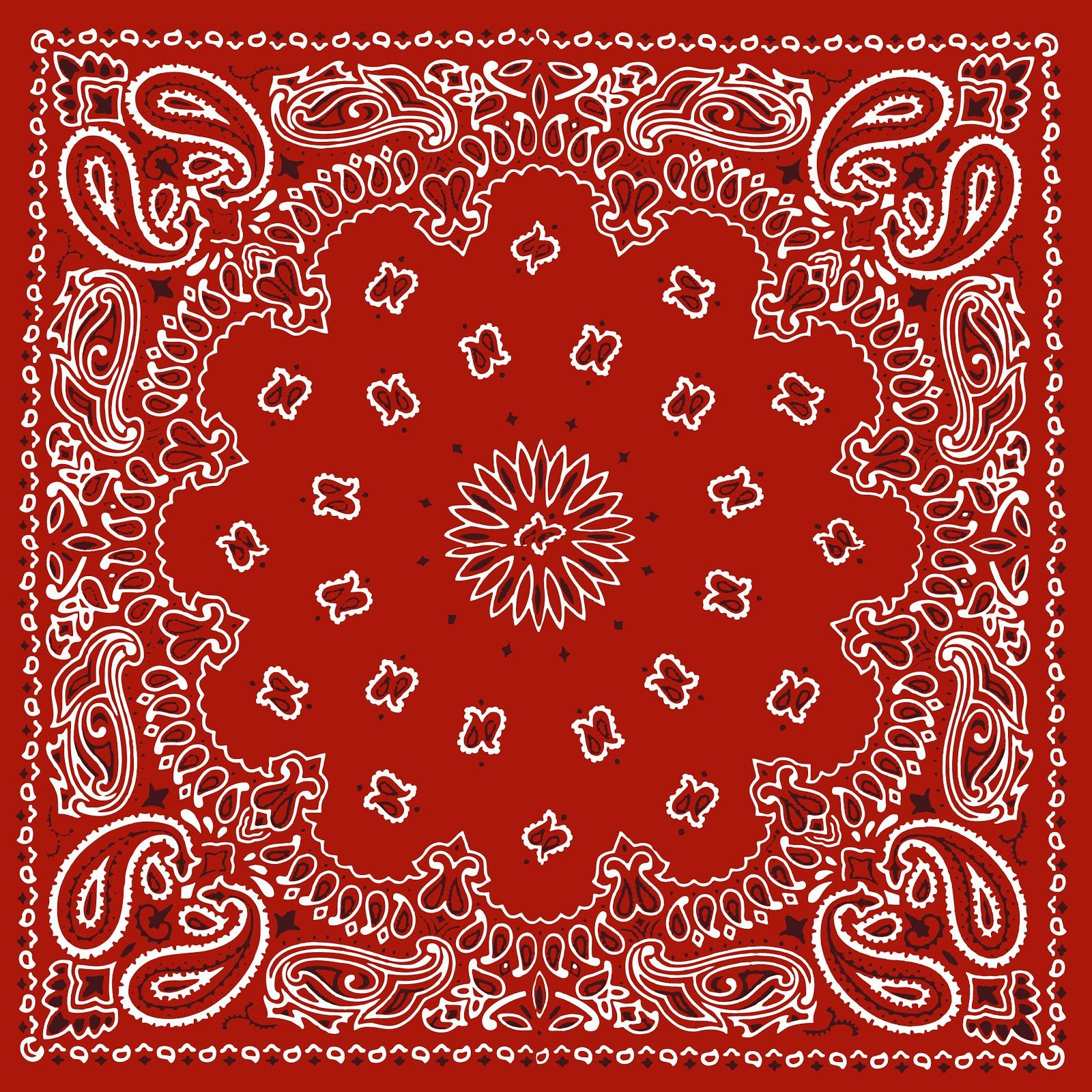 RED BANDANA, PRINTABLE BACKGROUND BACKGROUNDS