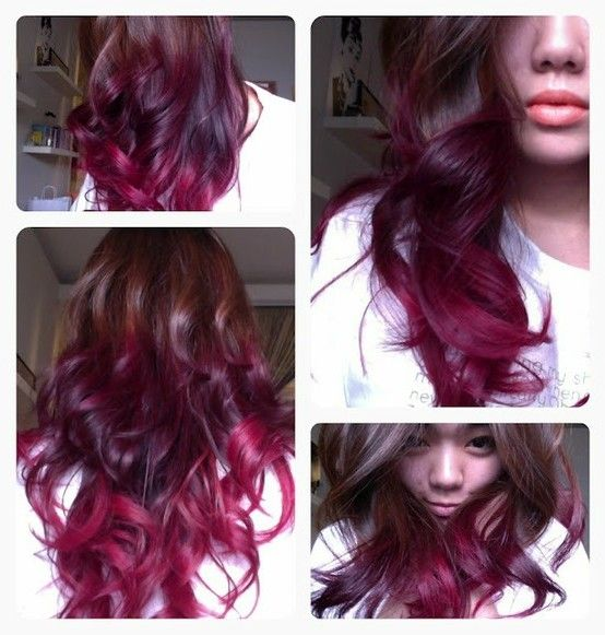 Pink highlights in black hair pictures the best black hair 2017 black hair with dark pink and purple highlights weave easy pmusecretfo Image collections