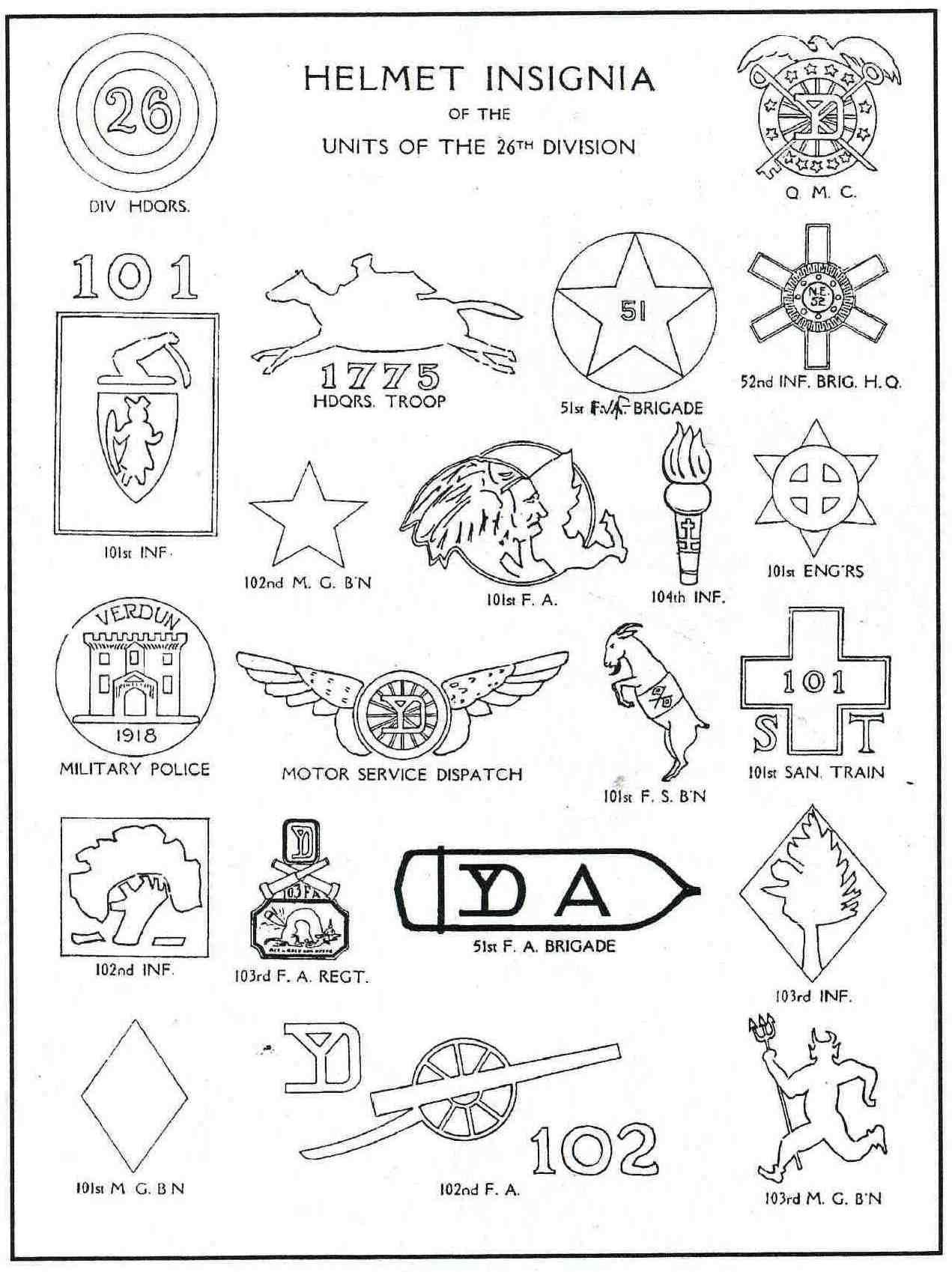 Helmet Insignia