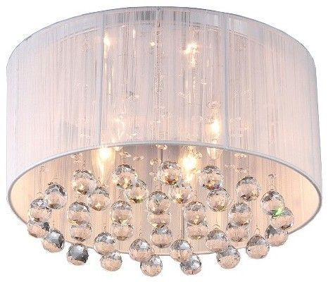Warehouse Of Tiffany Chandelier Ceiling Lights White