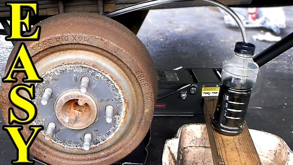 How To Do A Complete Brake Flush And Bleed Ford Explorer 1998 Car Maintenance Tips