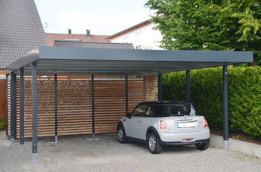 """Doppelcarport """"Made in Germany"""" aus Stahl für 2 Autos oder"""