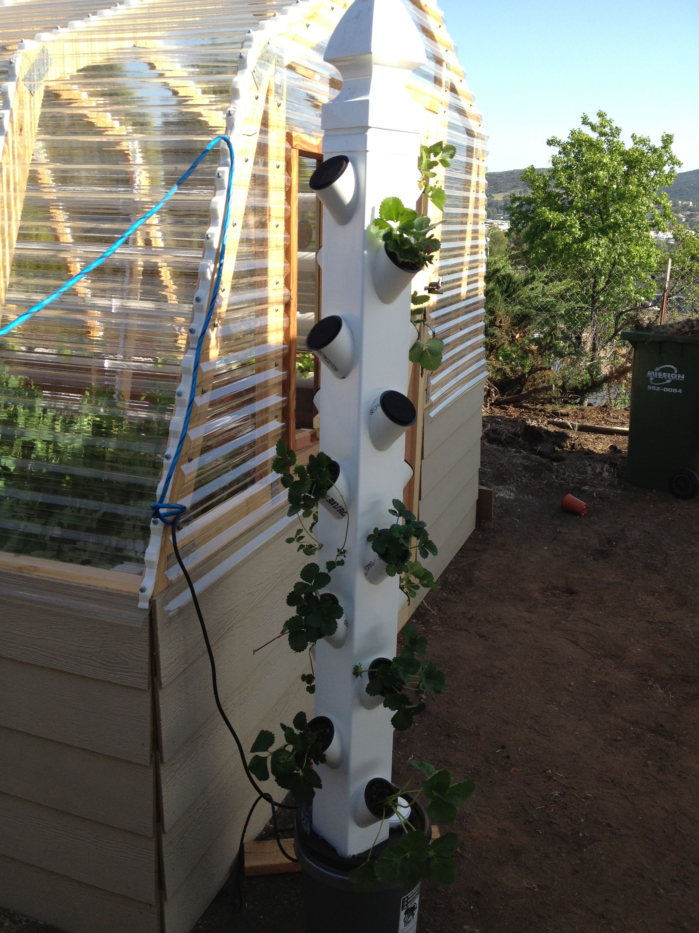 Vertical Hydroponic Garden How to Build Your Own