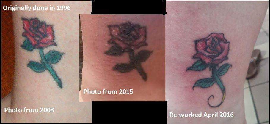 Re-working A 20 Year Old Tattoo