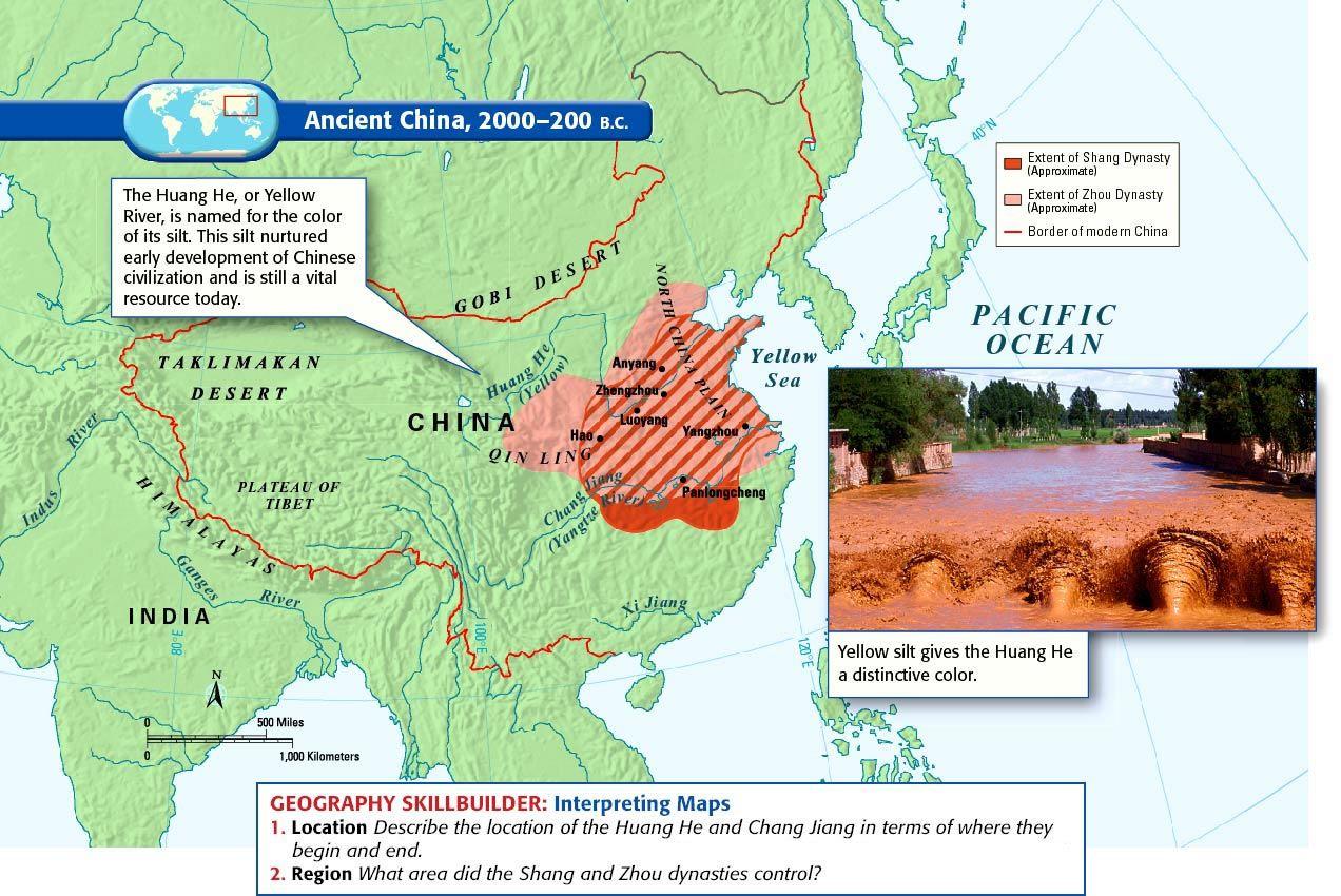 Ancient China 200 B C