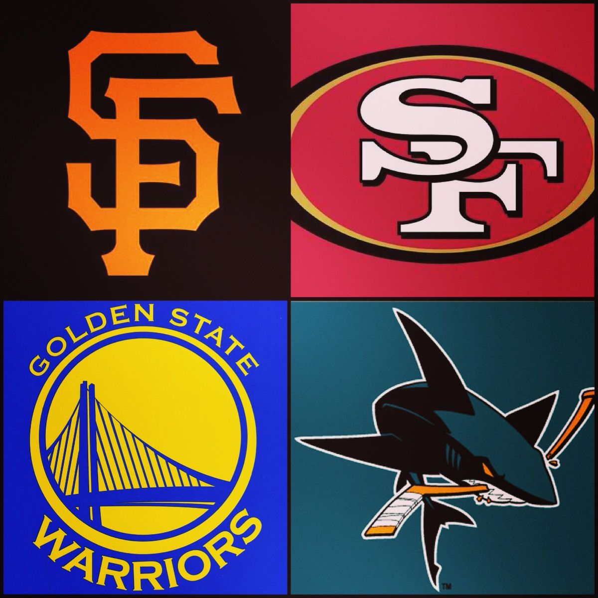 I love these Bay Area teams and clothing in their