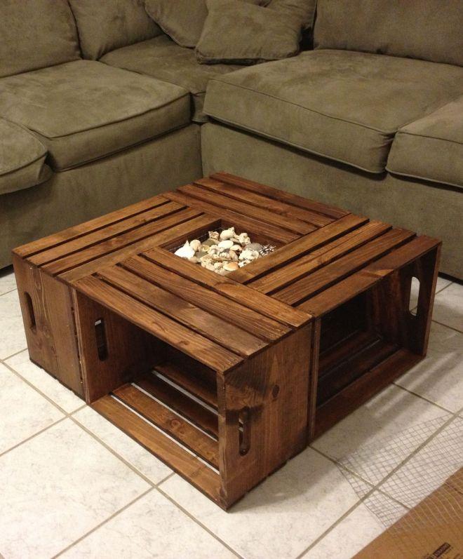 diy coffee table designs