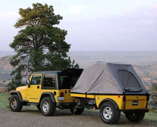 Jeep Camping Jeep Trailer Pinterest Jeep Camping