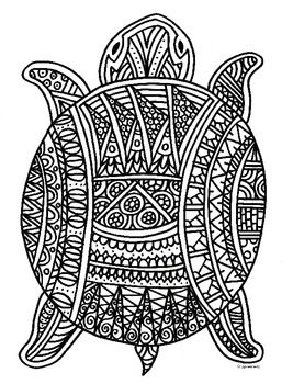 1000 images about turtle coloring pages on pinterest turtles