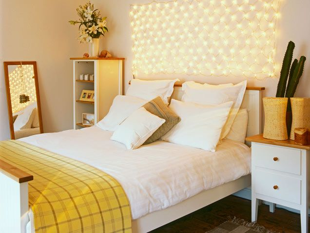 Add Cheer To A Basic Bedroom With An Over The Bed Arrangement Of Fairy