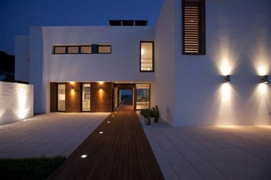 Exterior Contemporary Outdoor Lighting Fixtures Modern