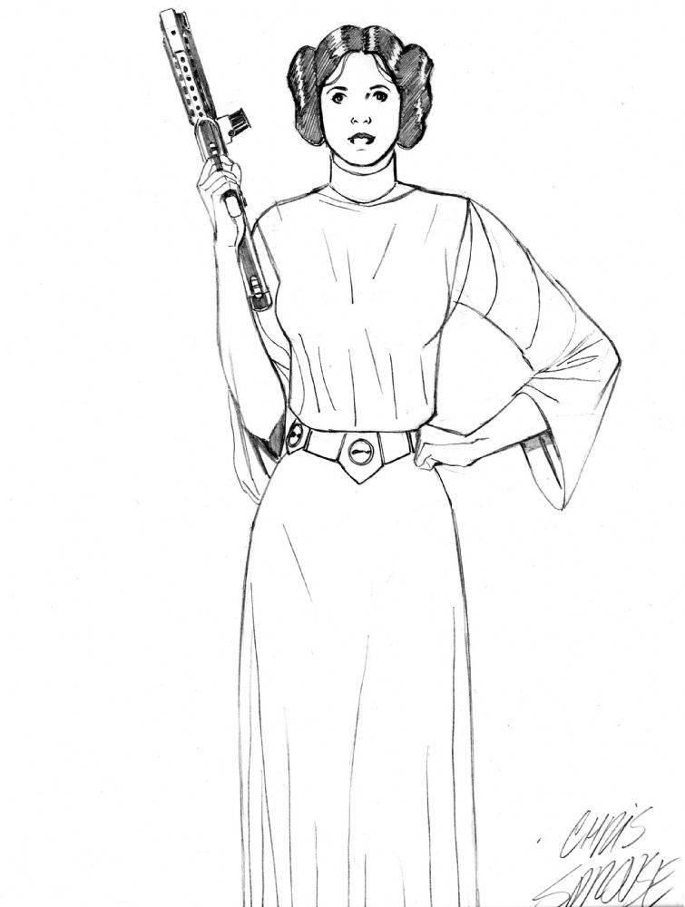 princess leia coloring pages and star wars on pinterest