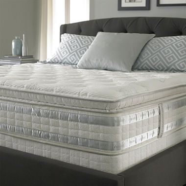Sam S Club Perfect Day Iseries By Serta Ceremony Super Pillowtop Mattress Set Includes Box Spring