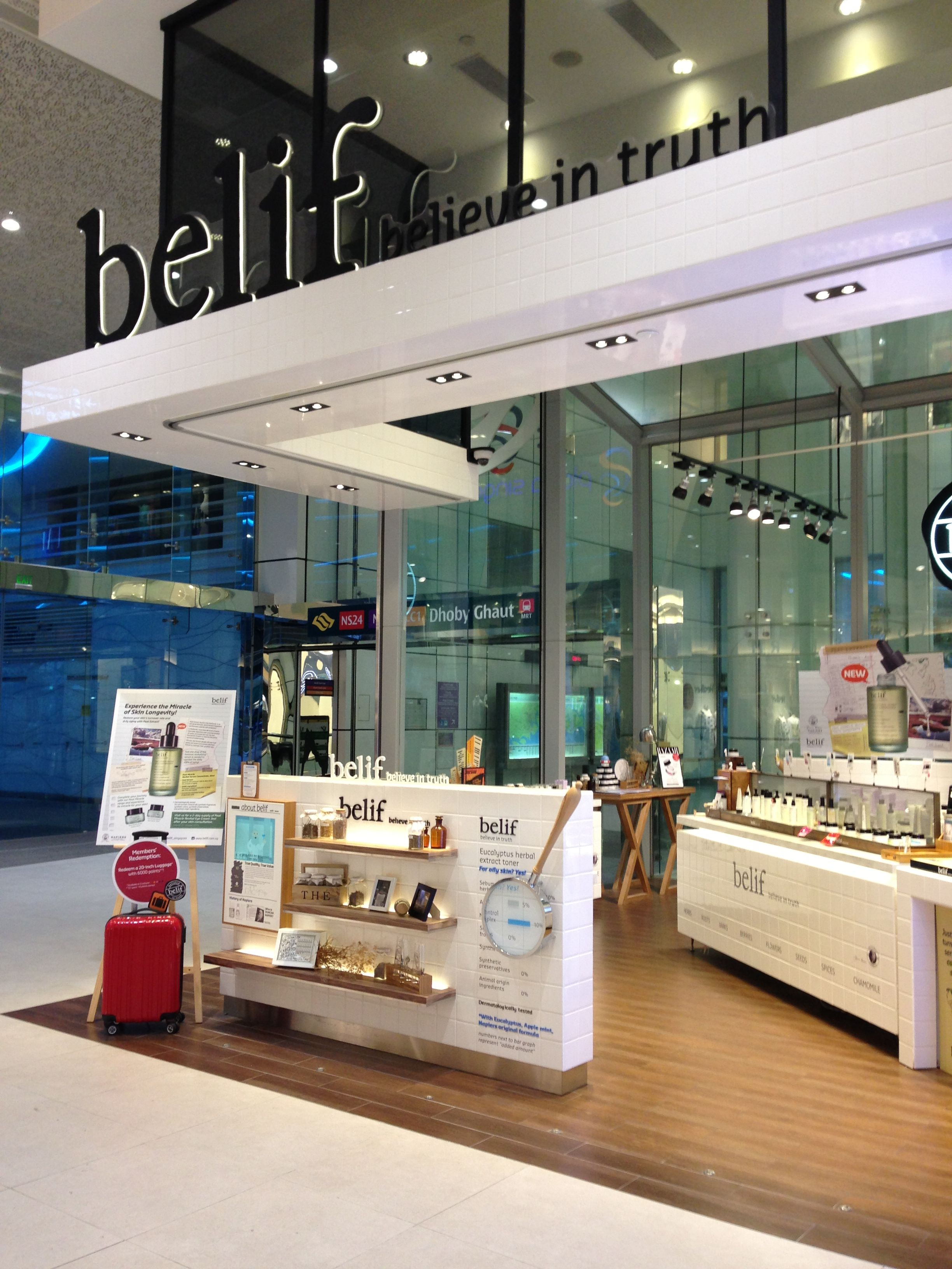 The belif skin care shop (Plaza Singapura, Singapore