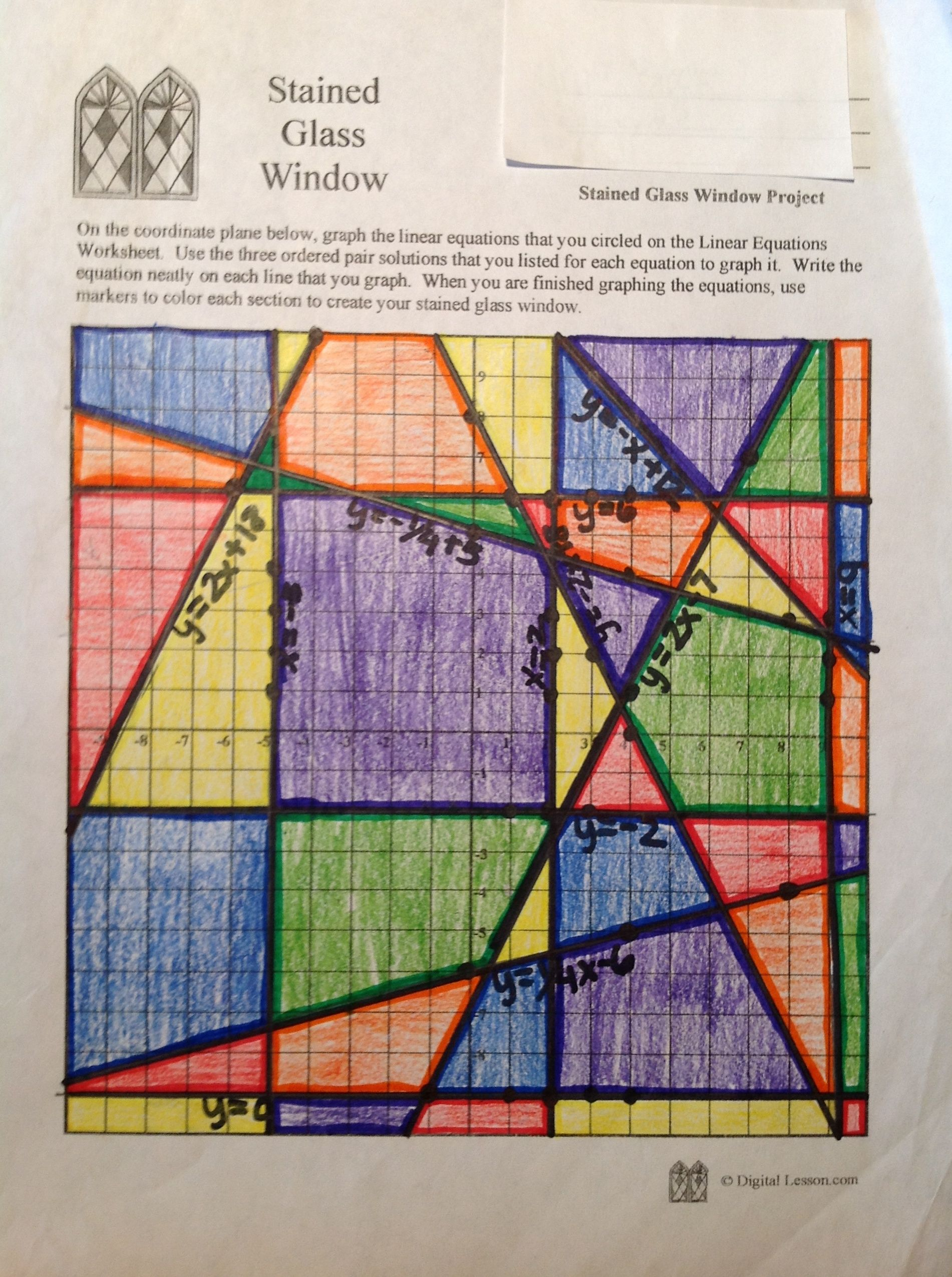 Stainedglasswindow4 Area Perimeter Love That It Isn
