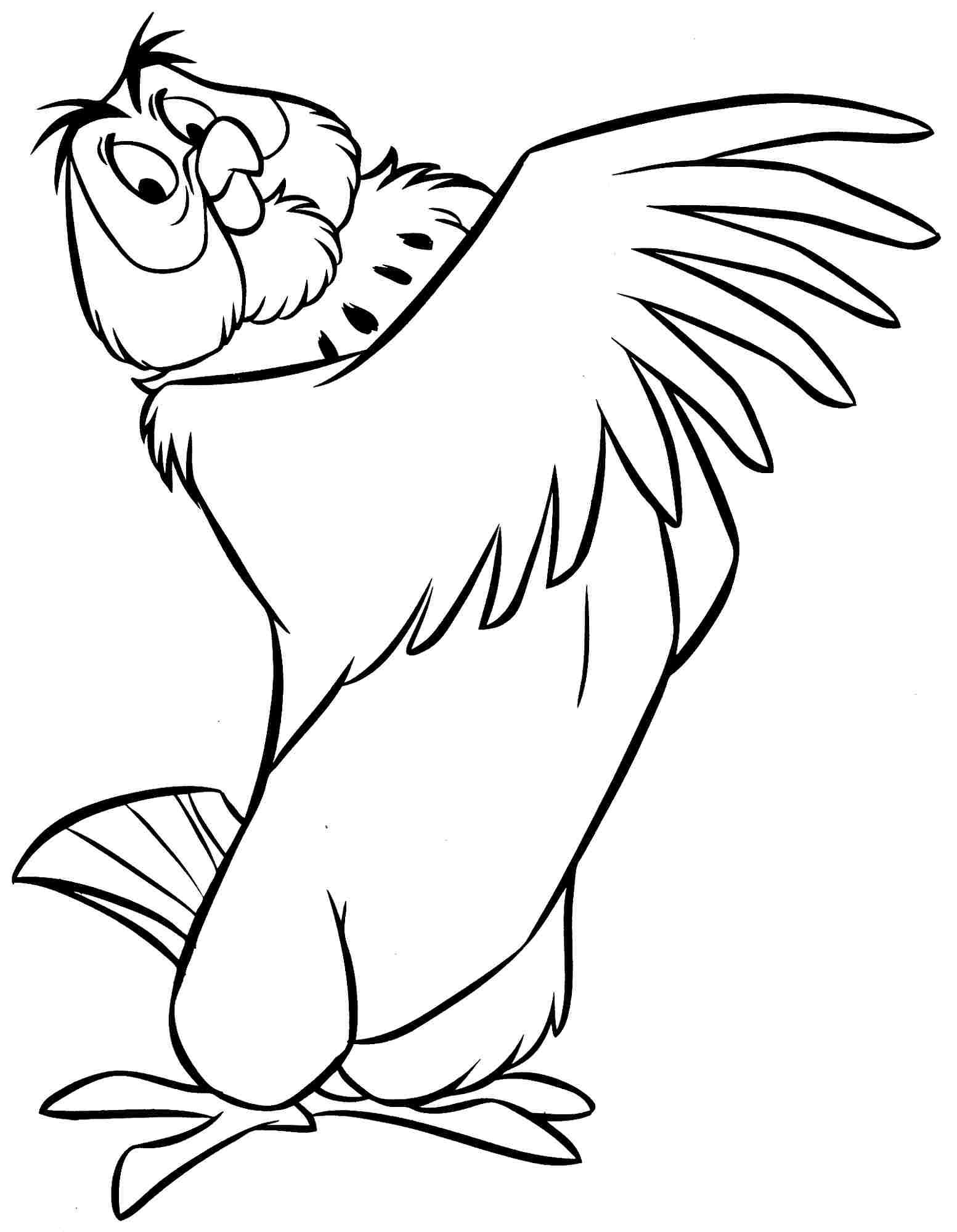 Owl Outline Winnie The Pooh