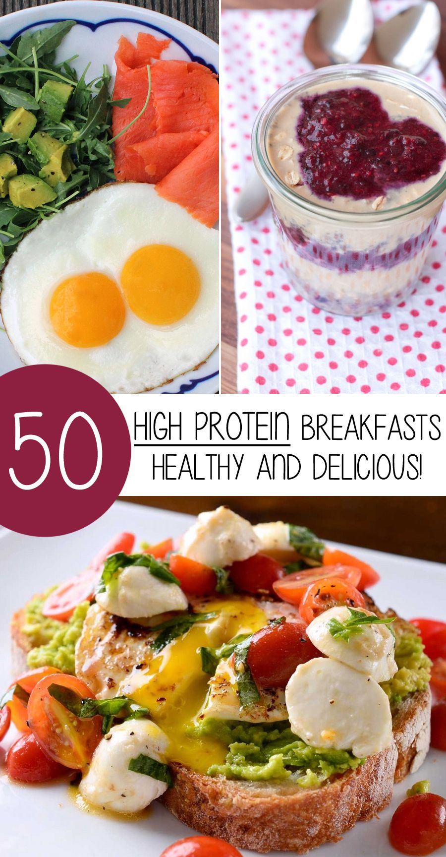 50 High Protein Breakfasts That Are Healthy And Delicious