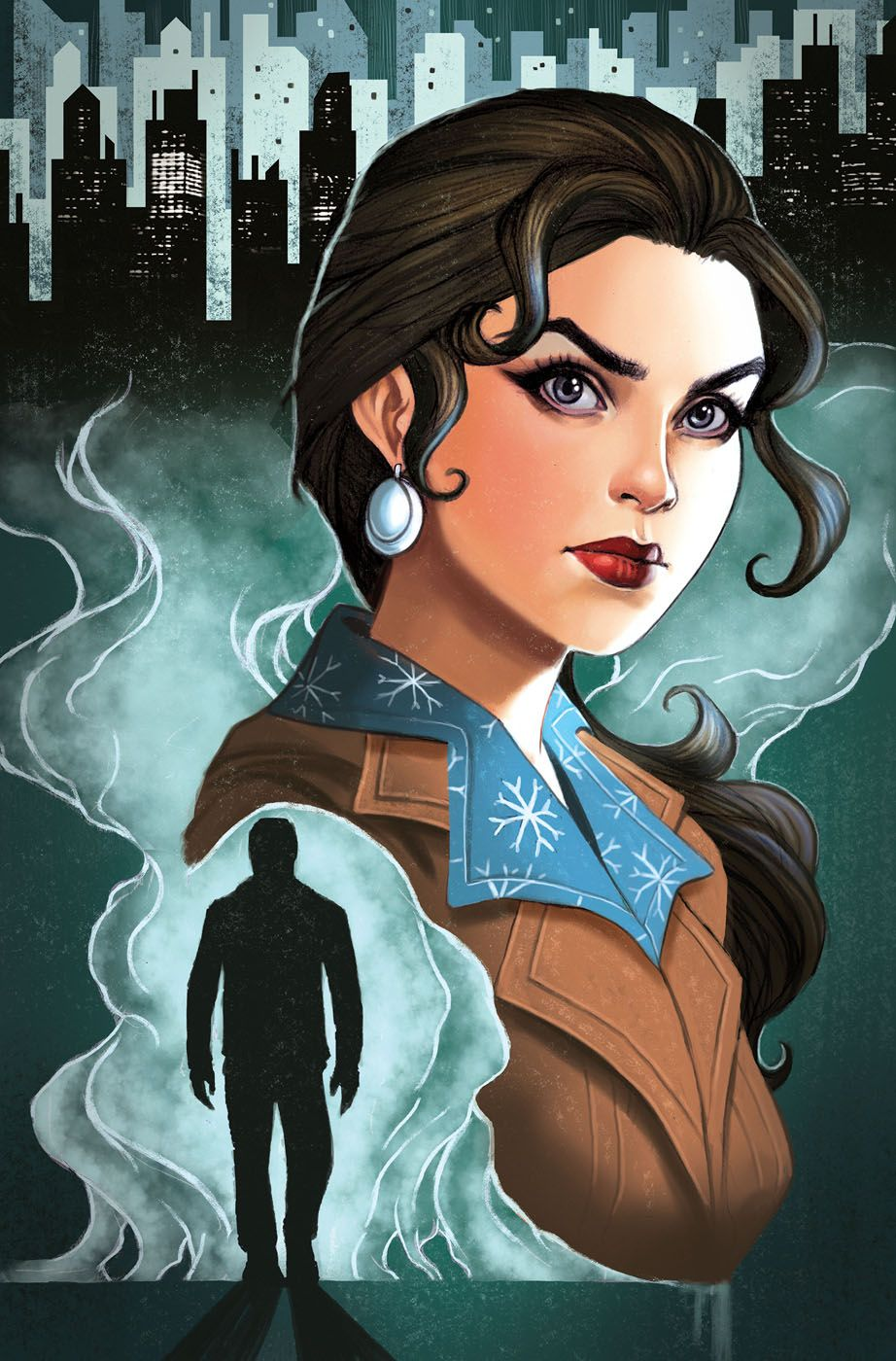 Fables The Wolf Among Us 5 Cover by Chrissie Zullo