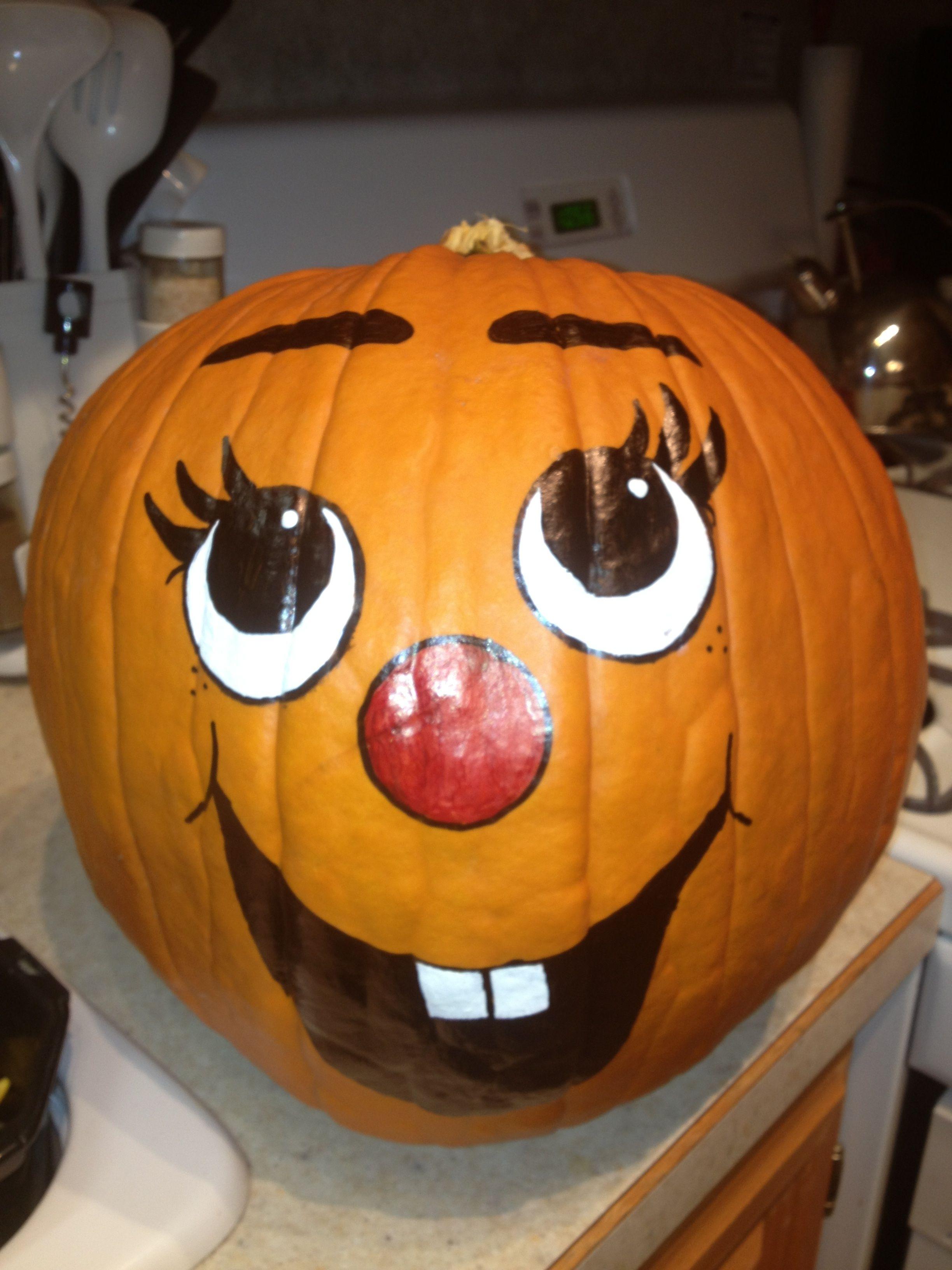 Painted Pumpkin Faces HALLOWEEN Pinterest Painted