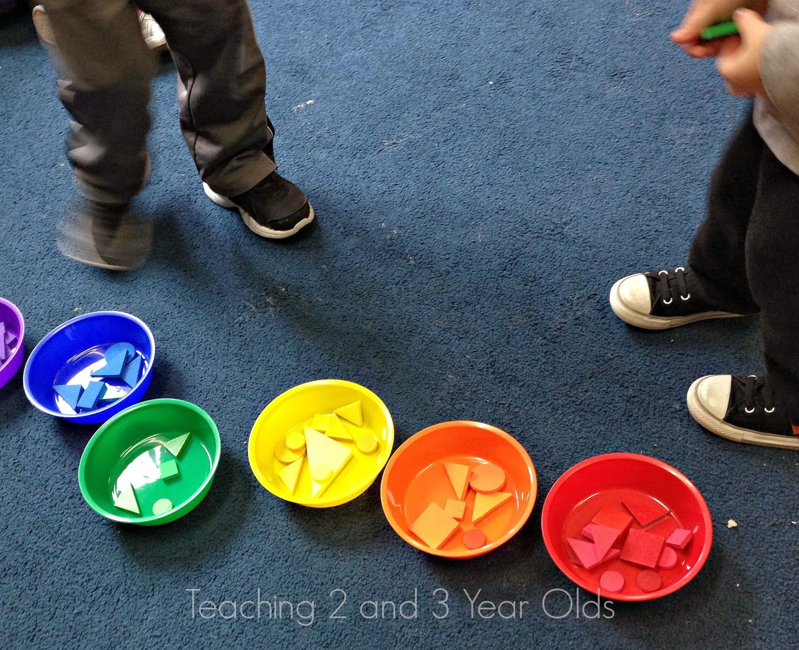 Learning Colors And Shapes In Preschool