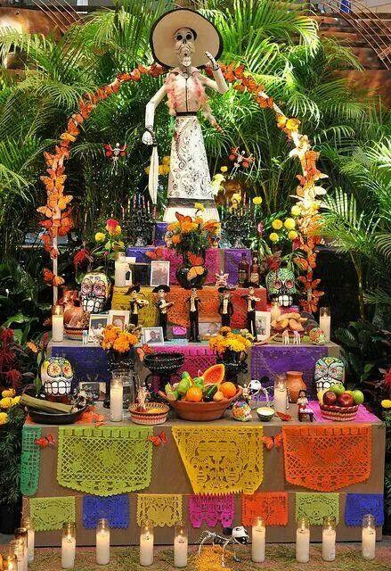 Qué es el día de Muertos en México Altars, Dia de and