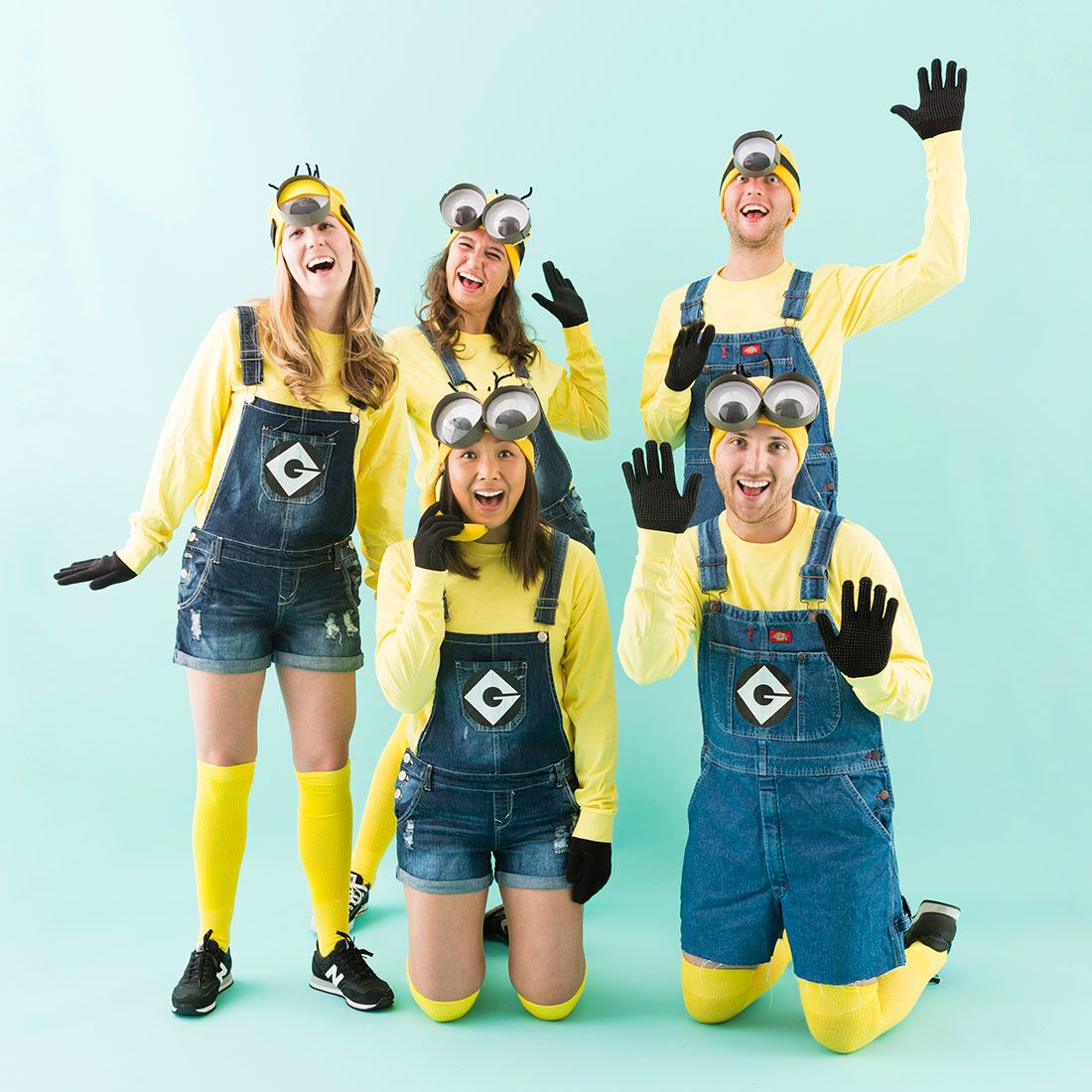 Make Minion Costumes for Your Squad This Halloween Group