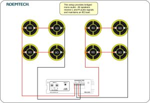 Classroom Audio Systems  Multiple Speaker Wiring Diagram