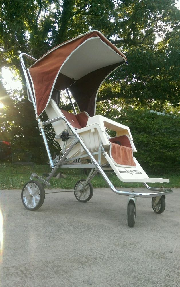 Strolee No Stoop Coupe Vintage Retro Stroller late 70's