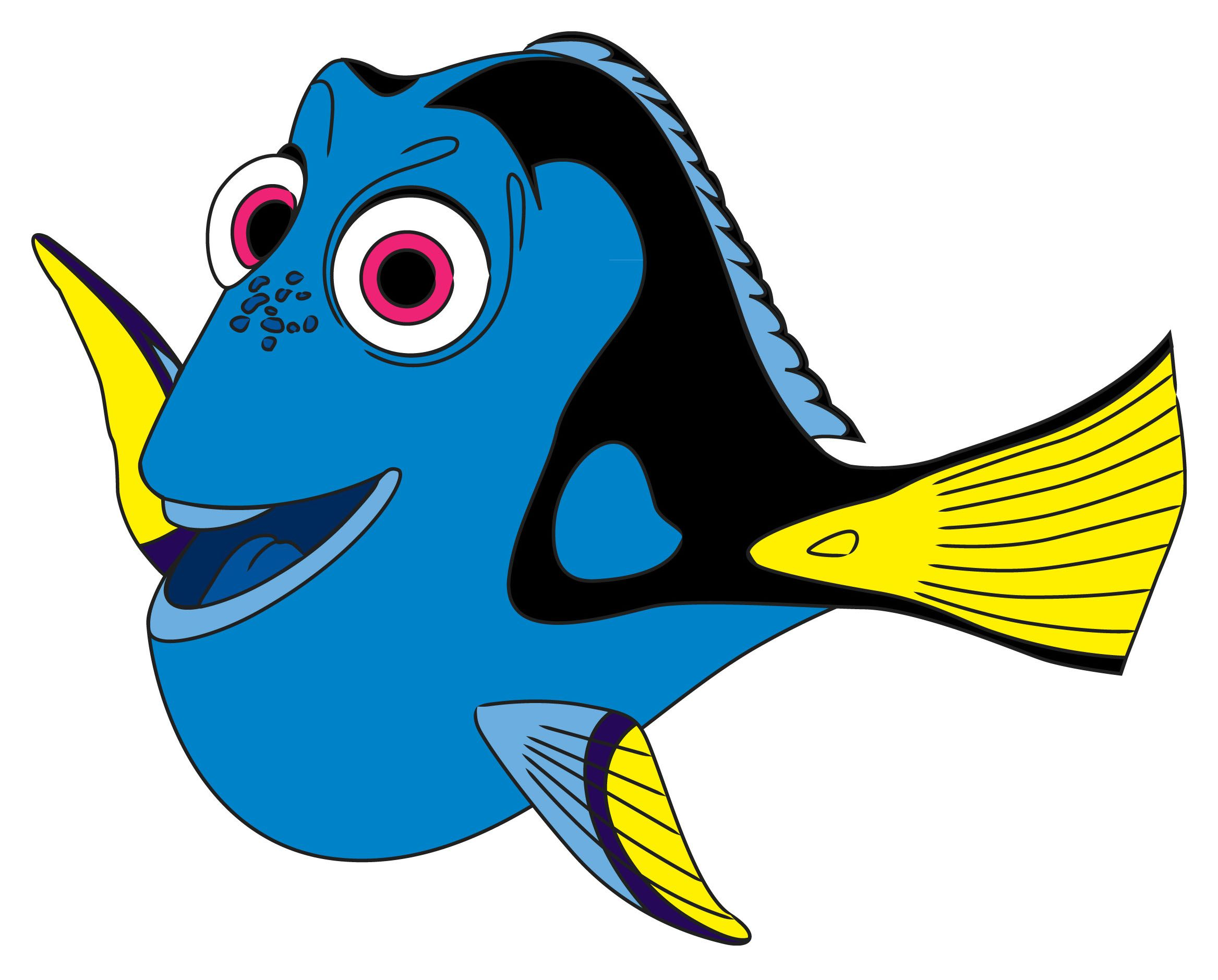 How To Draw Dory From Finding Nemo Via How