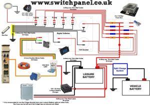 12V 240V Camper Wiring Diagram | VW camper | Pinterest