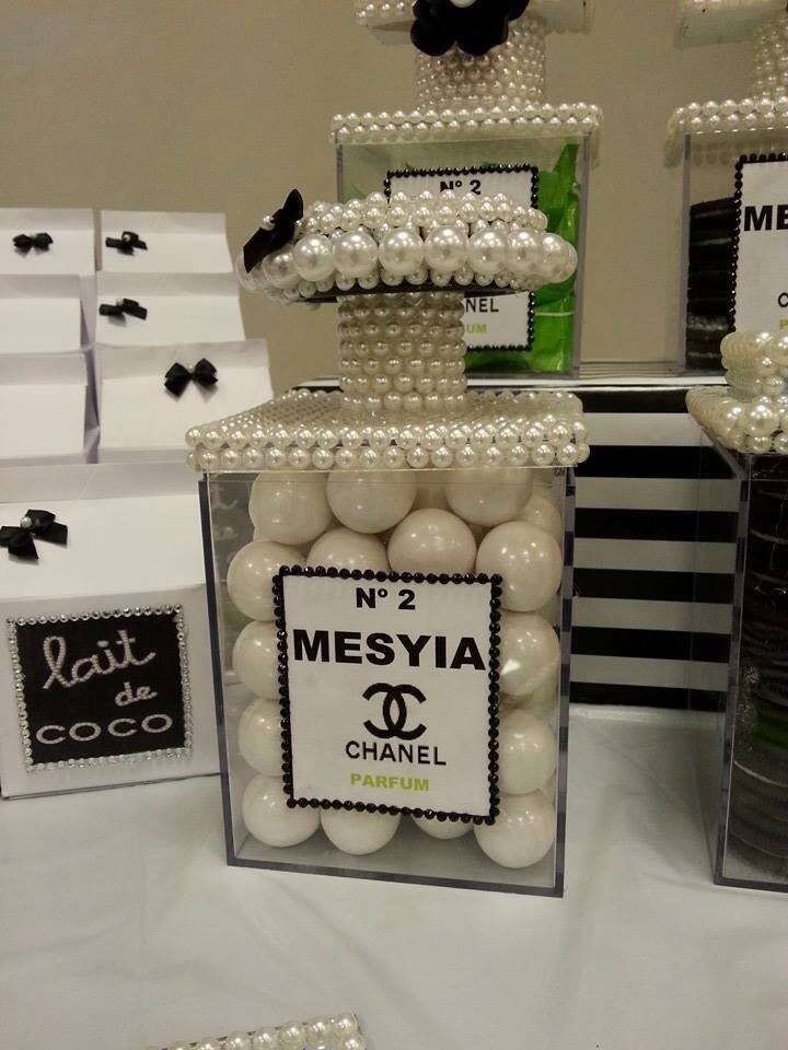 Chanel Birthday Party On Pinterest Chanel Party Chanel