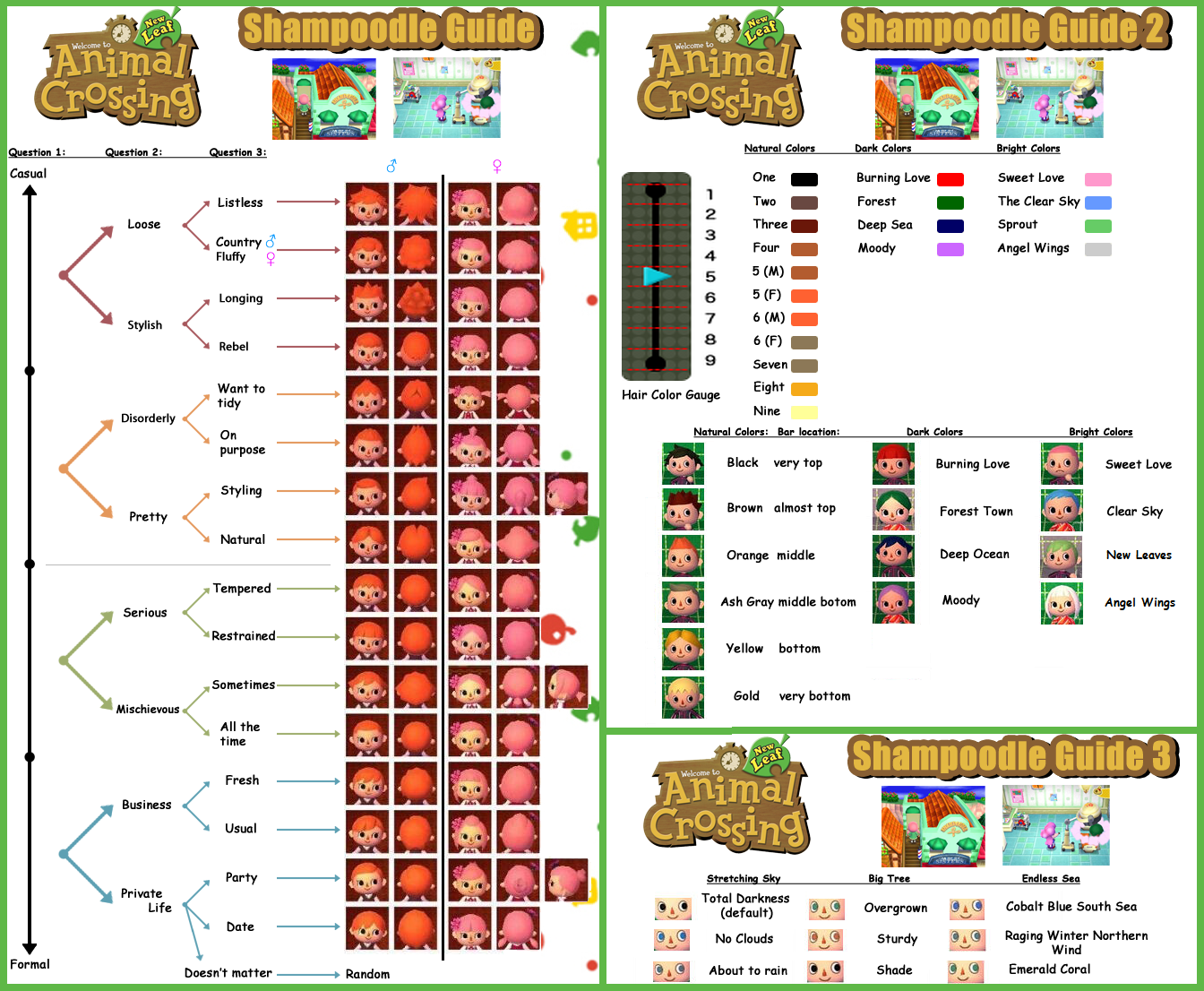 Guide to Shampoodle Animal Crossing New Leaf
