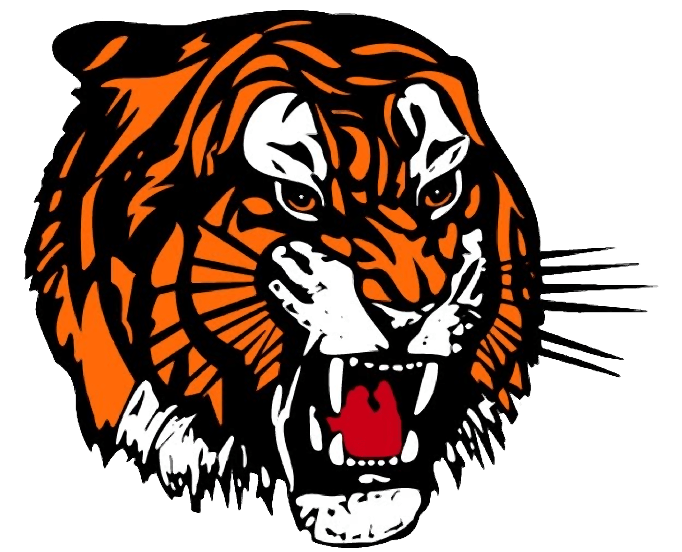 tiger paw clip art images of tigers cut image vector