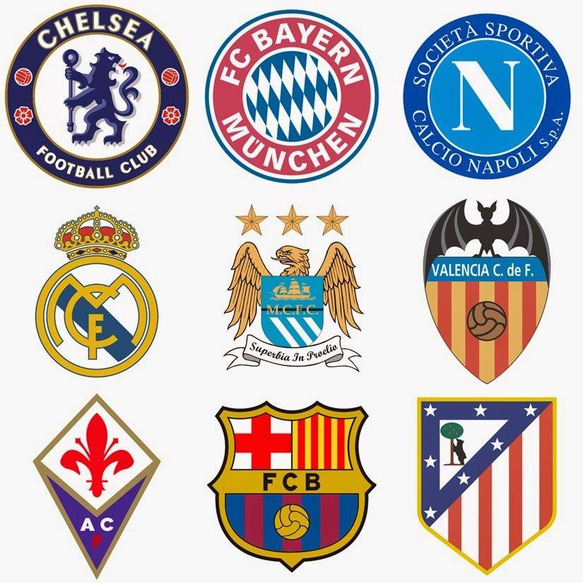 gambar logo atau lambang klub sepakbola dari www