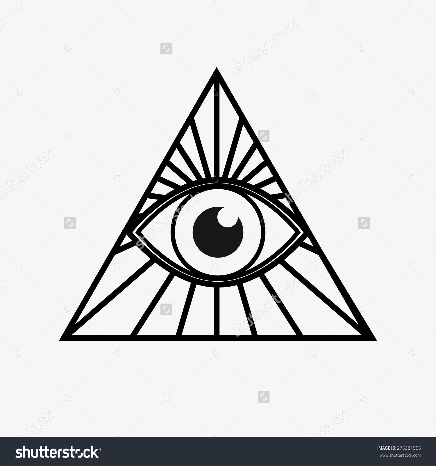 Image result for eye triangle Tattoos Pinterest