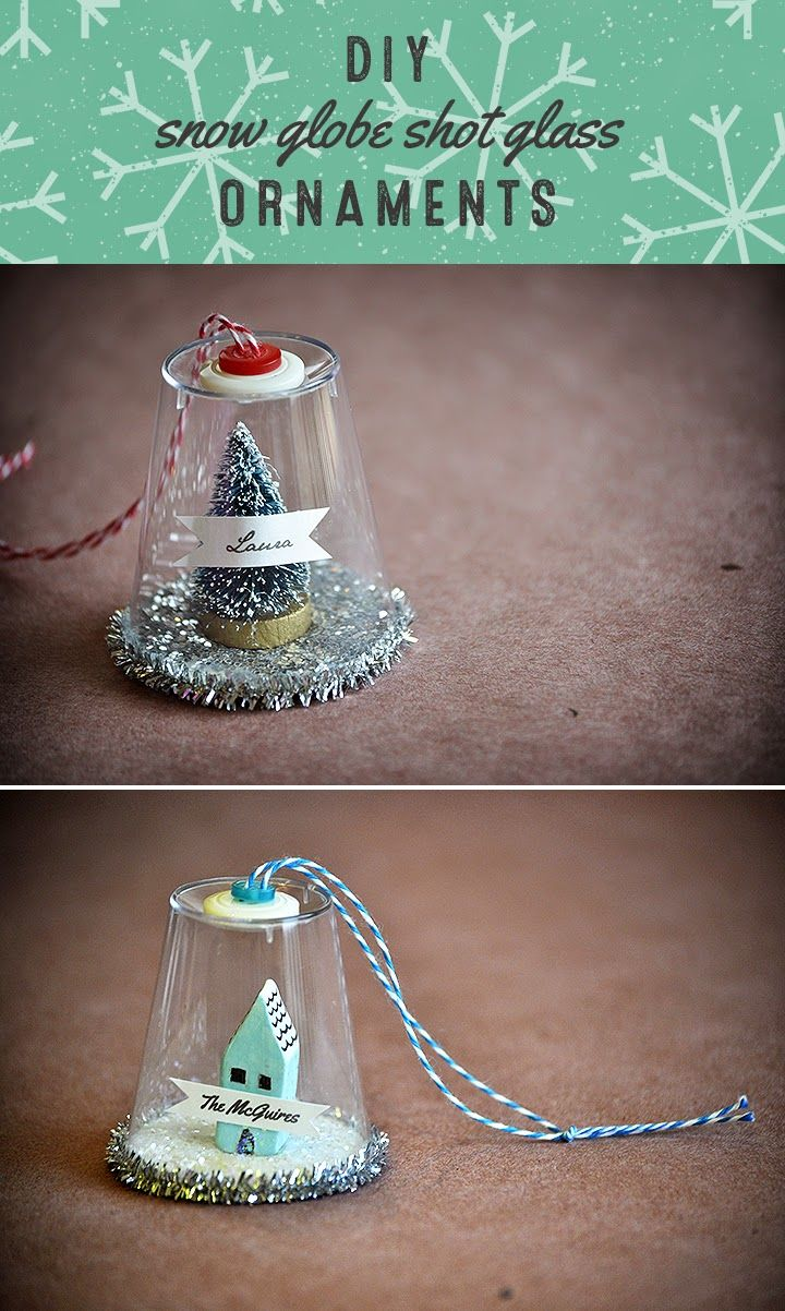What's Up with The Buells CRAFTING DIY SNOW GLOBE SHOT