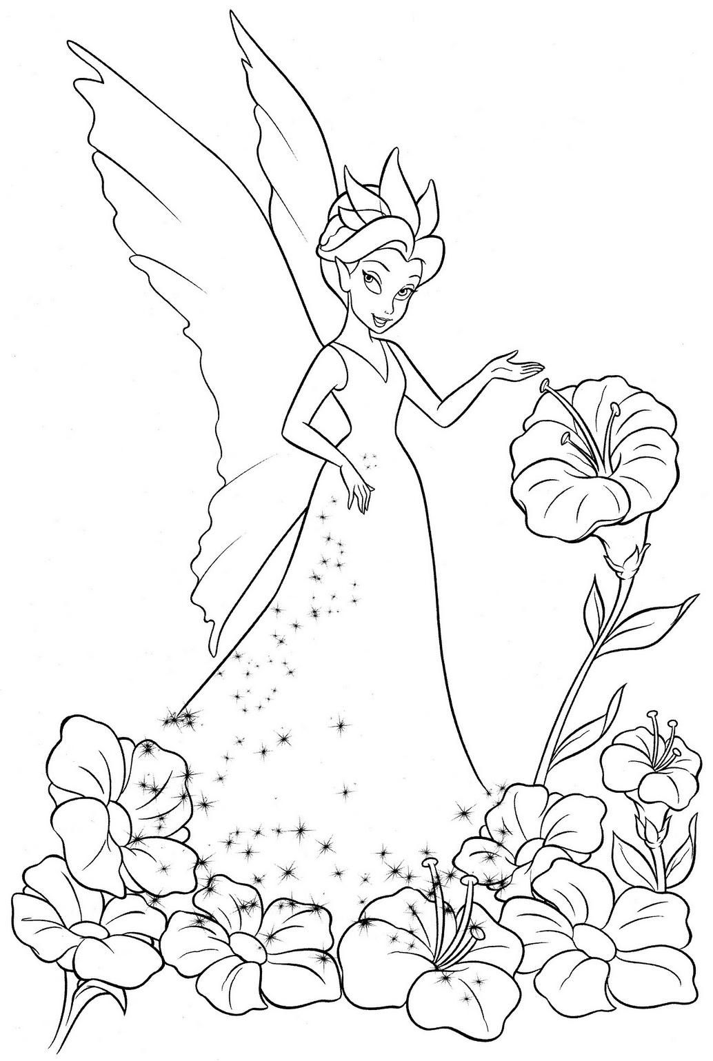 Fada Rainha Sininho Tinkerbell Desenhos Mandalas Pinterest