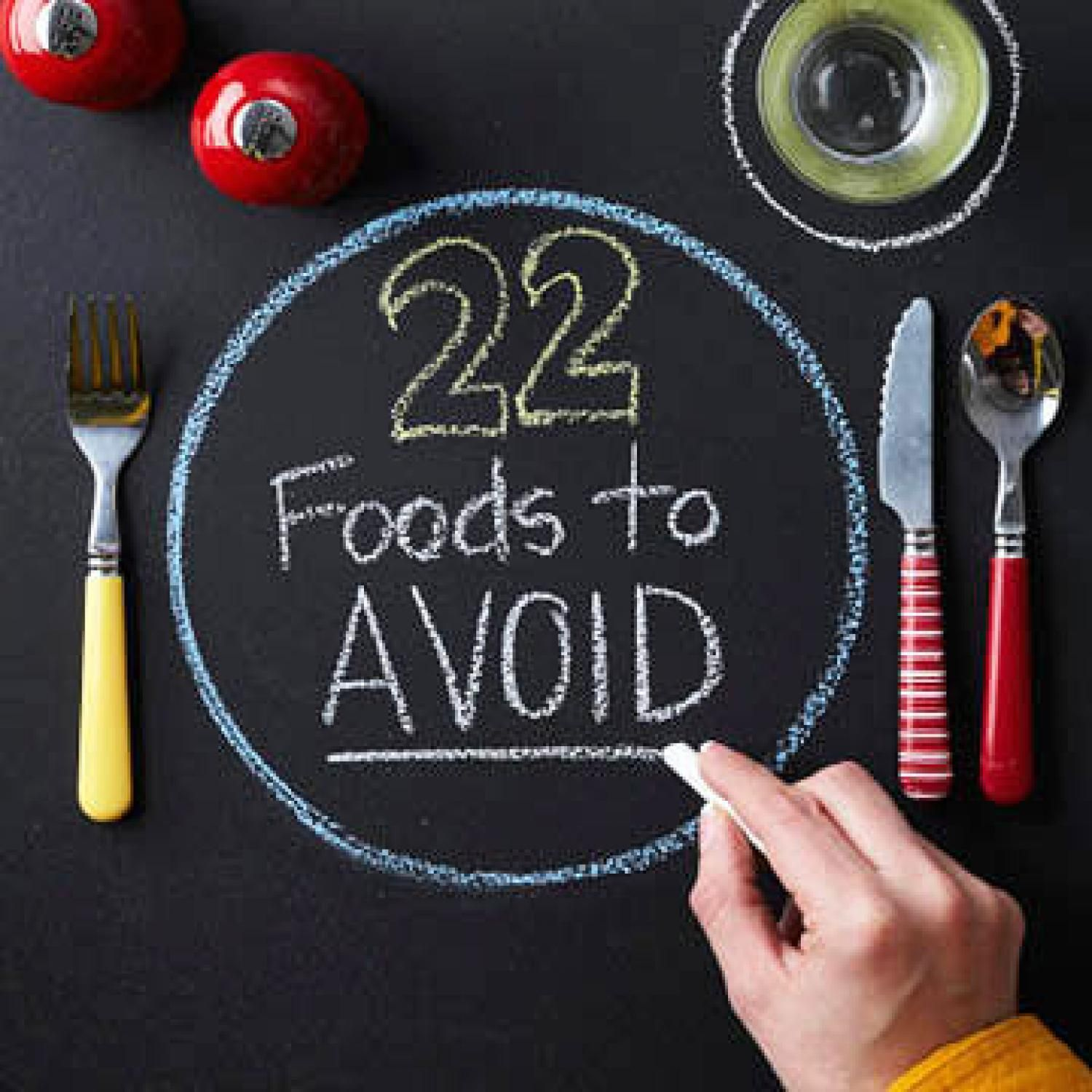 22 Foods to Avoid with Diabetes Heart disease, High