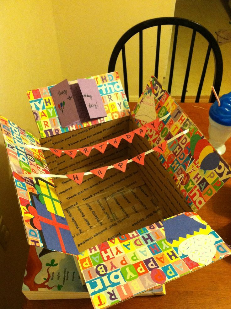 Birthday Care Package Ideas for Friends Guys 17th