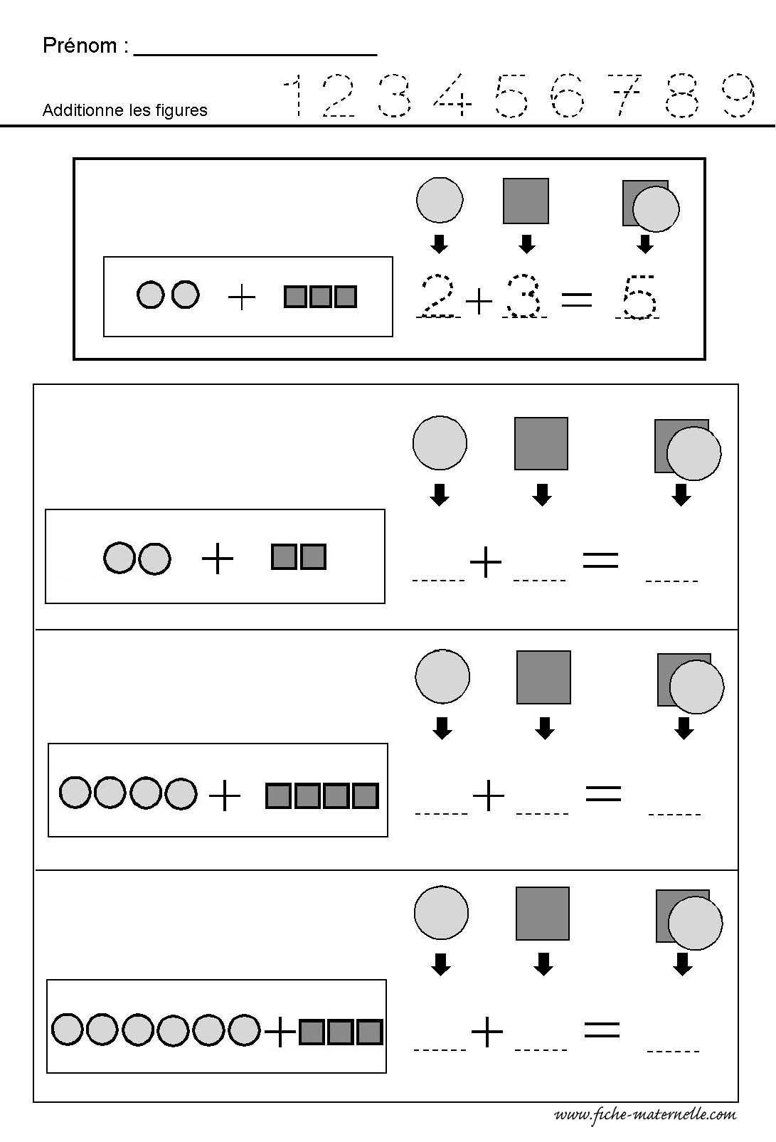 Mathematiques Additionner Des Quantites