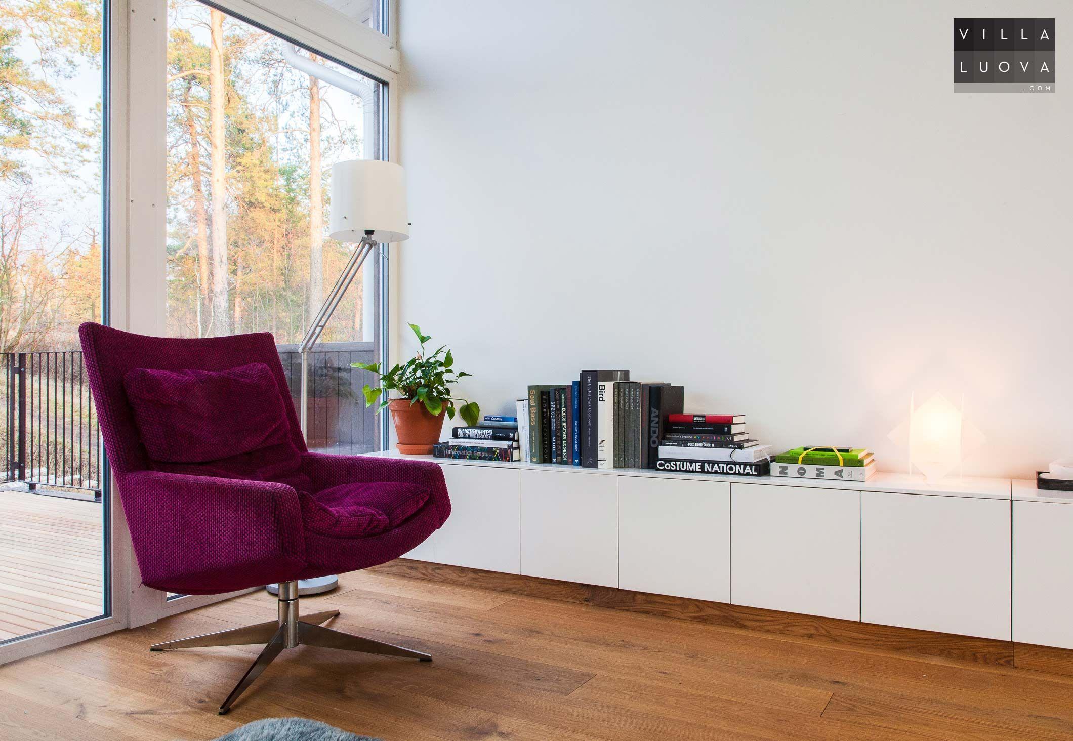 Reading nook Ikea hack, 7 meter long sideboard from