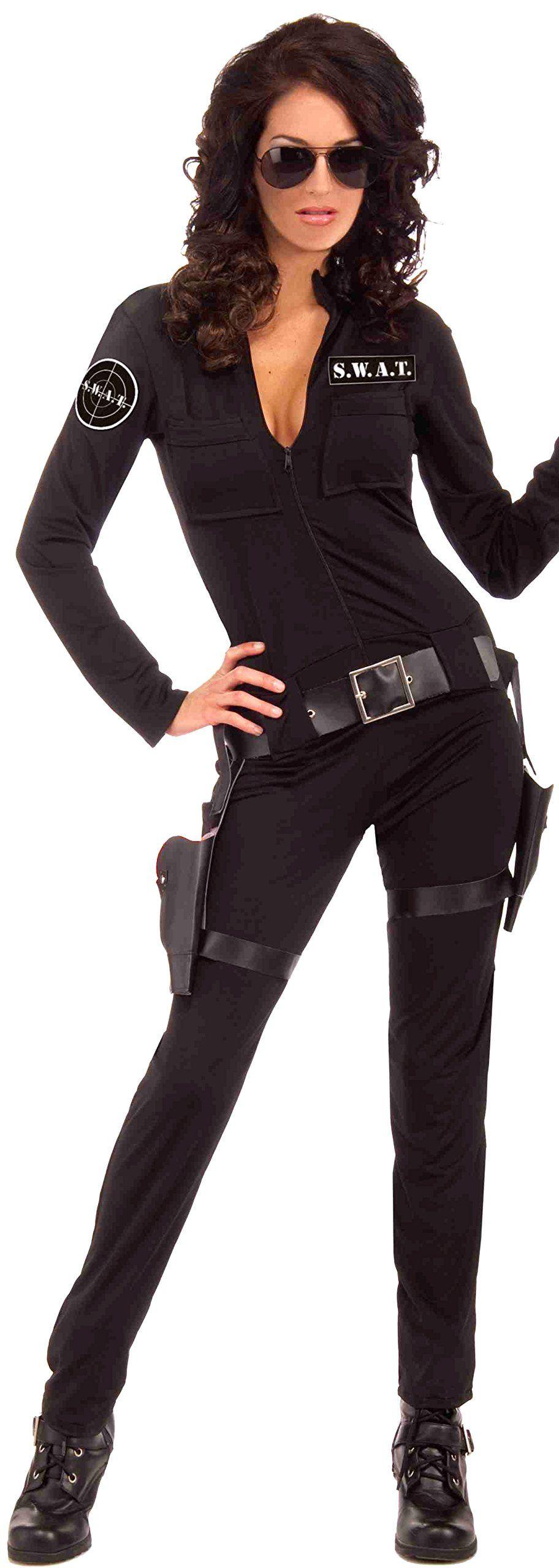 Forum Novelties Women's Swat Sexy Woman Of Action Costume
