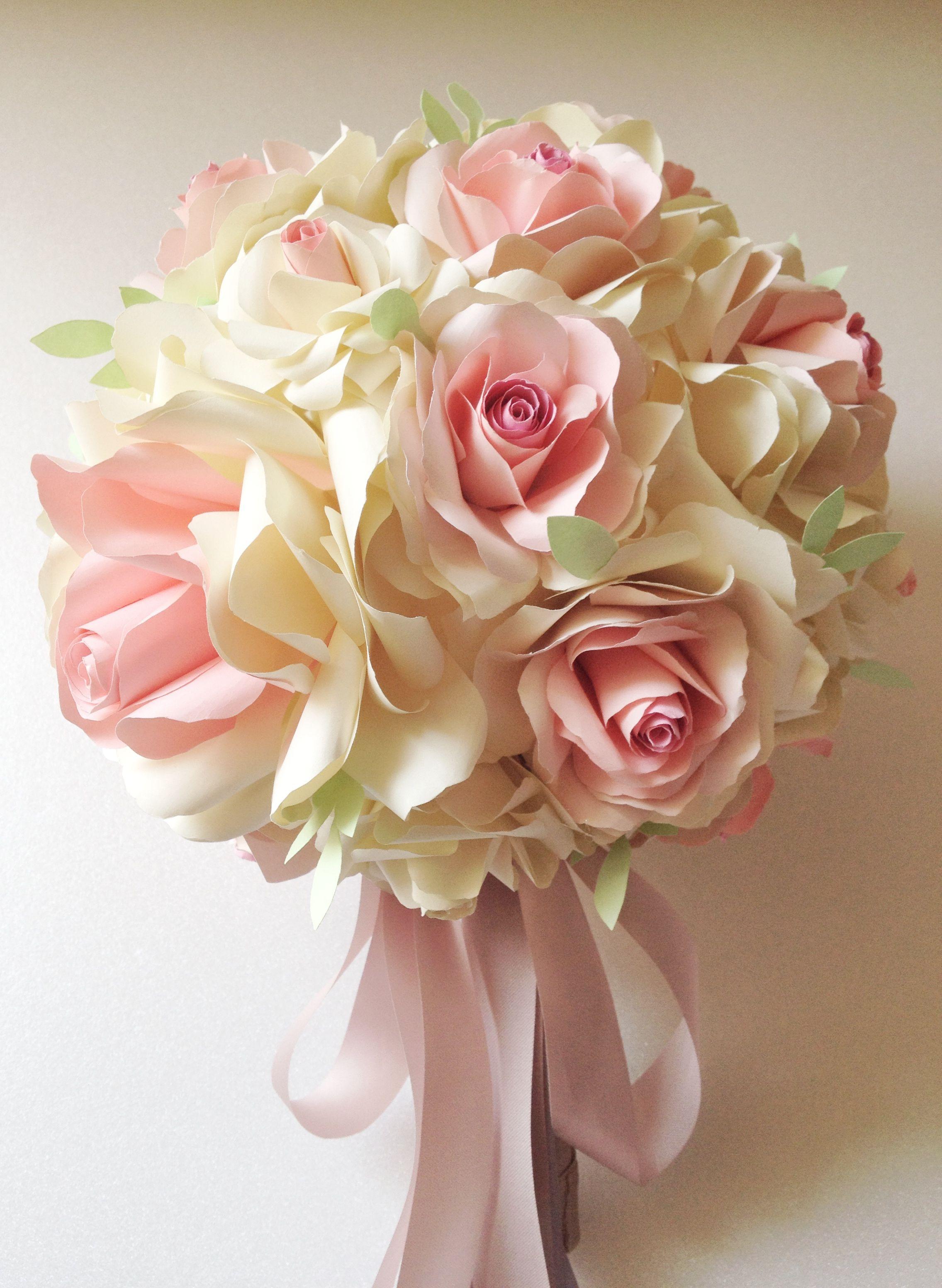 Wedding paper flower bouquet bouquet Pinterest