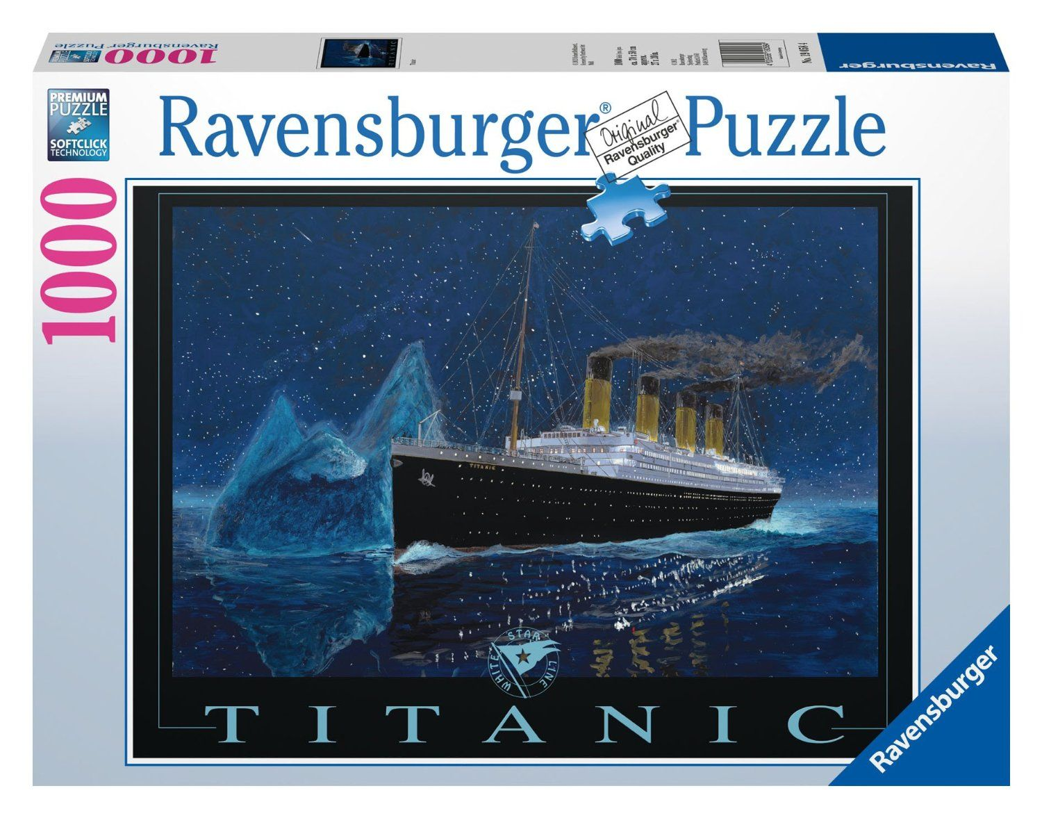Titanic 1000 Piece Jigsaw Puzzle From Ravensburger