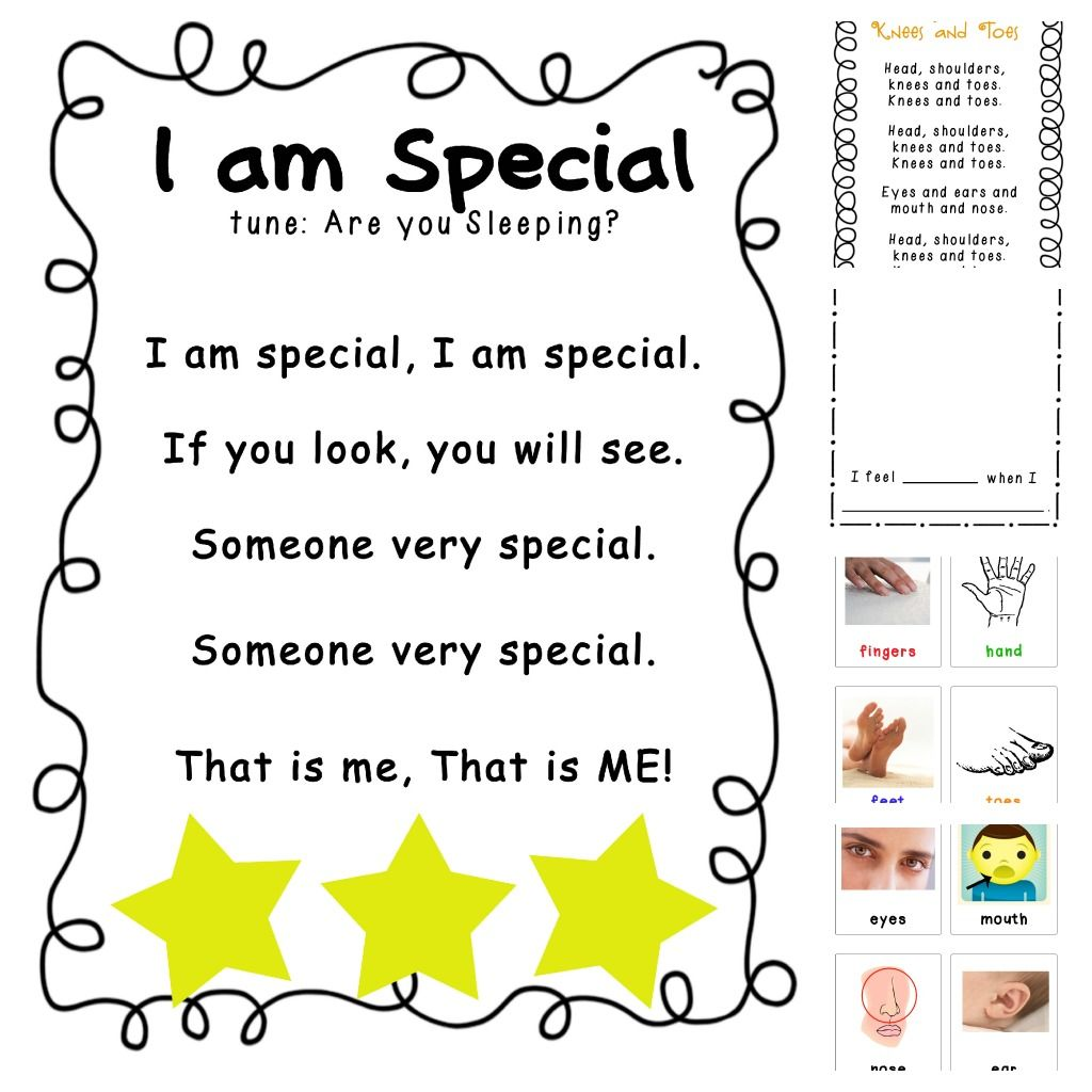 All About Me Preschool Lesson Plans Tot Themes