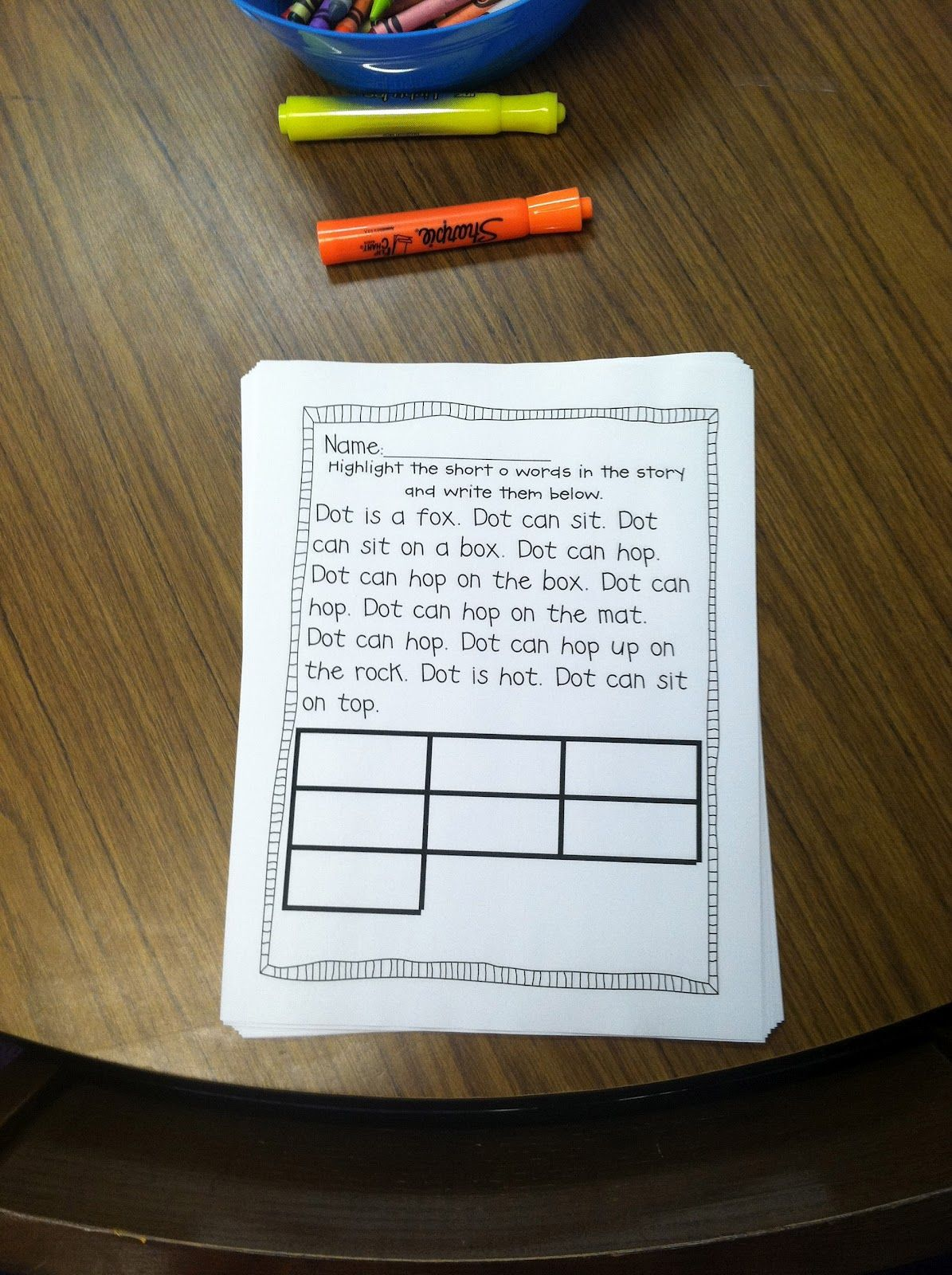 Word Work Idea From Life In First Grade Use A Past