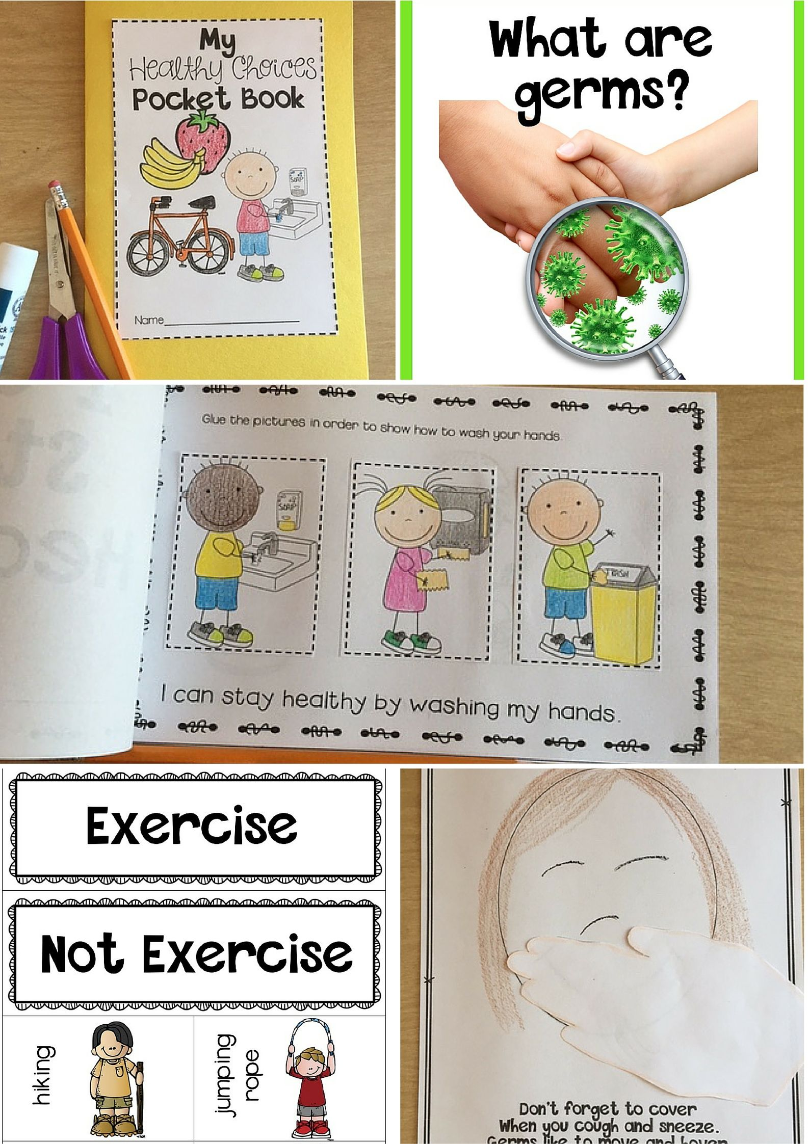 Staying Healthy Germs Hand Washing And Exercise