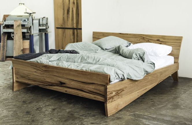 Yard Furniture O Bed Made From 100 Recycled Locally Salvaged Hardwoods Custom Designed