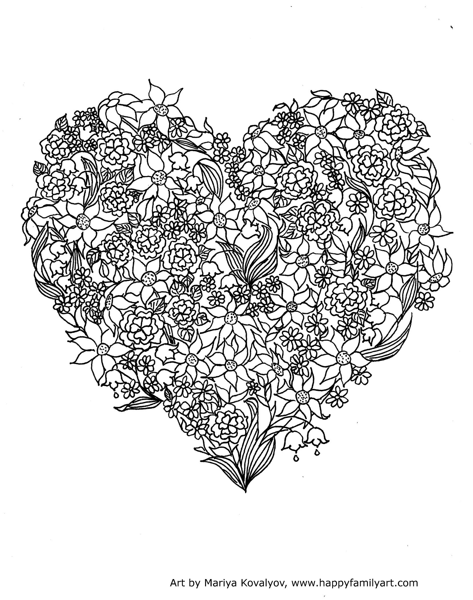 Valentines Day Holiday Coloring Pages Quote Via Happyfamilyart Several And Various Kinds