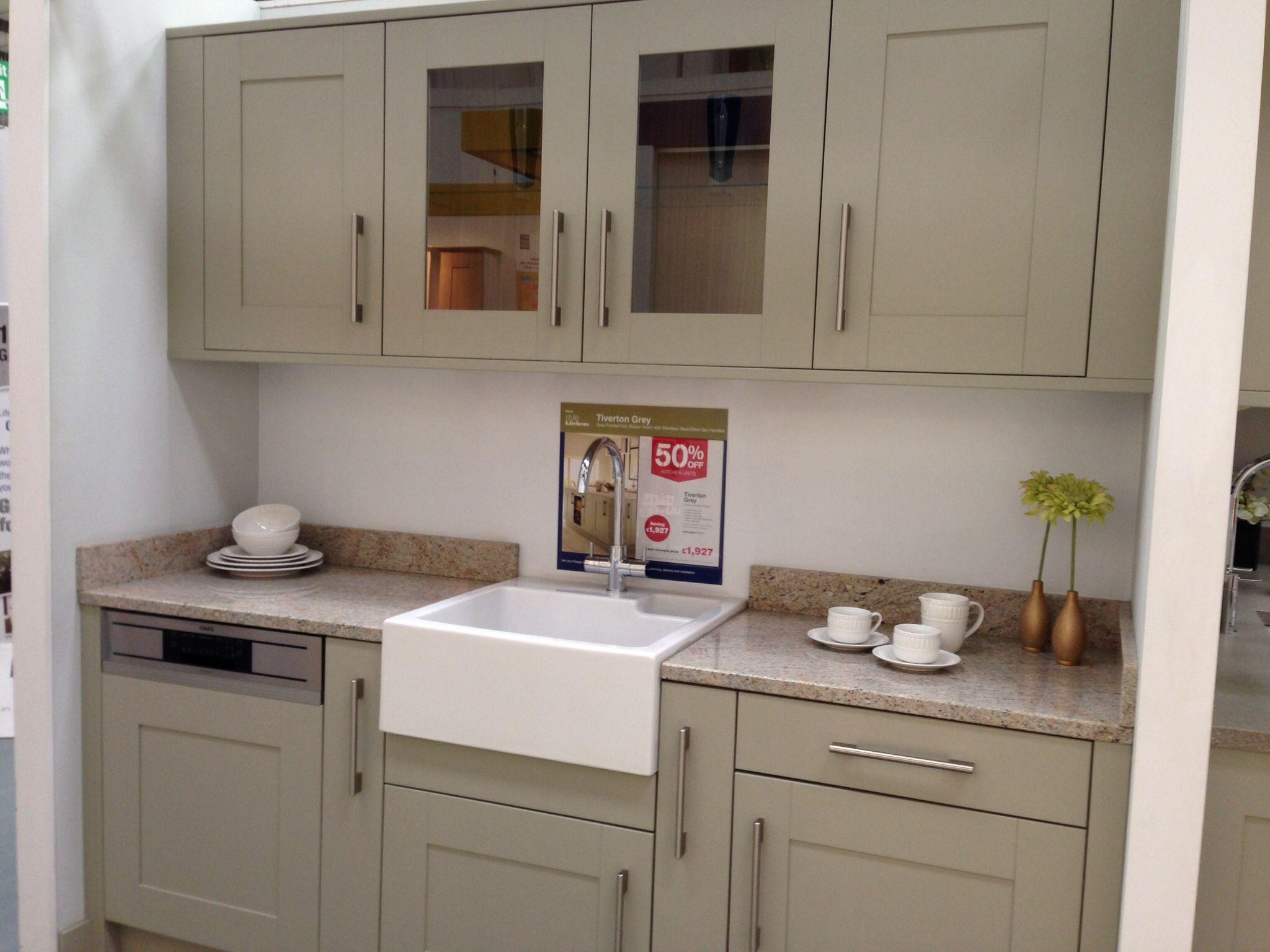 Kitchen units Wickes. Tiverton Grey Kitchen